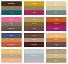 Color trends for fall wedding palettes from Formal-Invitations.com ...