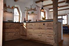 Chalet Style, Küchen Design, Buffet, Cabinet, Architecture, Storage, Kitchen Ideas, Furniture, Heart