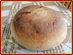 Všechny suroviny dáme do pekárny (nejdříve tekuté, pak tuhé) a použijeme program Těsto. Vykynuté těsto propracujeme, uděláme velikou... Graham, Program, Bread, Breads, Baking, Buns