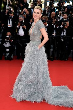 Naomi Watts in Elie Saab Couture at the Cannes Film Festival