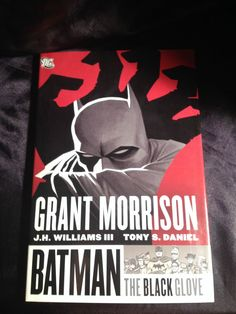 Batman: The Black Glove. DC Softcover Graphic Novel Grant Morrison