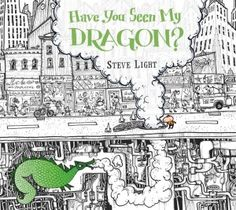 East Side, West Side, all around NY town! Steve Light's Have You Seen My Dragon? will entertain both parent and child as it's both a counting book (up to 20) and an homage to the Big Apple and its delights. @candlewickpress #kidlit #NYC #theBIgApple #conceptbook #countingbook #childrensbookreviews #dragon