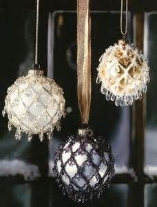 ... Pattern Only Beaded Holiday Elegance Christmas Ornament Cover | eBay