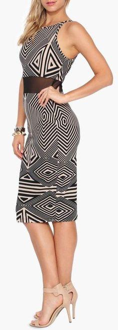 Tech Midi Dress