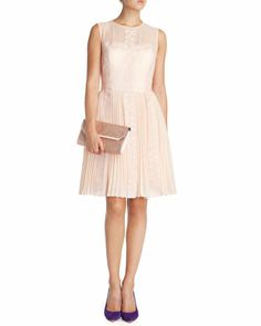 FREJAH - Lace dress - Pale Pink | Womens | Ted Baker UK