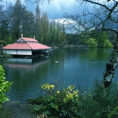 The boathouse, Walsall Arboretum