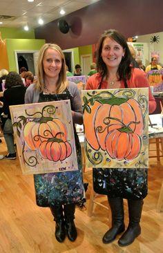 Funky Pumpkins in Newton!