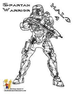 halo 3 recon coloring pages google search