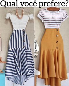 Fresh spring outfit ideas – Just Trendy Girls Mode Outfits, Skirt Outfits, Dress Skirt, Classy Outfits, Chic Outfits, Spring Outfits, Modest Fashion, Fashion Dresses, Beauty And Fashion
