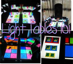 Light Tables 101 (featuring 101 ways to use a light table)