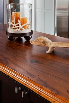 Craft Art S Distressed Black Walnut Waterproof Wood Countertops With Design By In Detail Interior