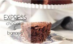 L'express chocolat, banane & cacahuète (sans beurre).