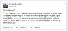 ESTE MARTES EL IESSE SUSPENDE LAS CLASES POR SEGURIDAD DEL ALUMNADO - SANTA ELENA DIGITAL