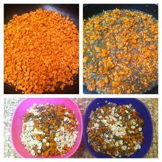 Soia disidratata con lenticchie