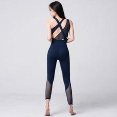 b770dd4ce07e Nellima Mesh Breathable Yogasuit Fitness Pilates