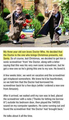 Dr. Who...the Real Santa...