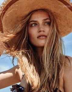 Photography: Lena Melnik. Styled by: Brandy Joy Smith. Hair: Deborah Brider. Makeup: Raul Otero. Model: Sonya Gorelova.