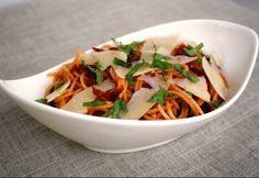 14 ízig-vérig olasz tészta 15 perc alatt | NOSALTY Spagetti Recipe, Pudding Recipes, Thai Red Curry, Baking, Ethnic Recipes, Foods, Italia, Food Food, Food Items