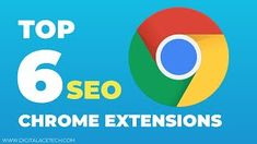 Top 6 Chrome SEO Extensions that you should use in 2020 and improve your Search Engine Optimization game in less than 2 minutes Chrome Extensions, All Website, Seo Tips, Search Engine Optimization, Effort, Improve Yourself, Engineering, Game, Top