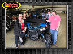 Thanks to Karen Daniel, Shayna and Chance Hayden, and John Daniel from Kentwood LA for getting a 2017 Polaris RZR S 900. @HattiesburgCycles