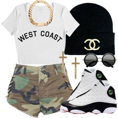 Women'S sneakers outfits 2017 / 2018 clothes casual outift for Swag Outfits, Dope Outfits, Outfits For Teens, Casual Outfits, Girl Outfits, Fashion Outfits, Outfits With Jordans, Jordans Girls, School Outfits