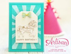Louise Sharp | Be Inspired Blog Hop | Stampin' Up!