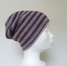 Unisex Wool Slouch Beanie Hat - Mens Winter Hat - Womens Ski Beanie - Snowboarder Gift Skater Urban Style Beanies