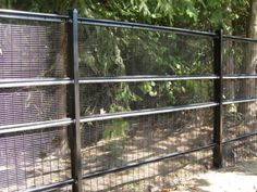 Here is a security fence with anti ram capabilities. Home Security Devices, Home Security Tips, Home Security Systems, Survival Prepping, Survival Mode, Homestead Survival, Home Safety Tips, Chicken Home, Home Guard