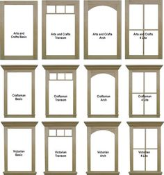window casing and window comparisons