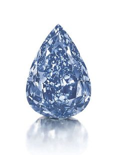 The Blue – the largest Fancy Vivid Blue diamond in the world.