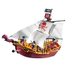 Playmobil® Red Serpent Pirate Ship - buybuyBaby.com