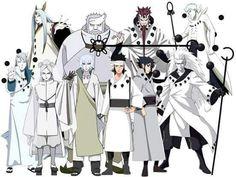 Família Ootsuki e alguns penetras