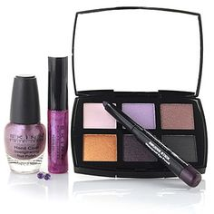 Pretty, pretty colors ... and I love Dimitri James. :)   ***     Skinn Cosmetics Five-Piece Special Edition Amethyst Collection