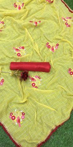 1 new message Sea Green Color, Navy Blue Color, Green Colors, Pink Color, Pearl Work Saree, Checks Saree, Lace Saree, Work Sarees, Yellow Fabric