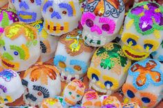Those lovely sugar skulls are representative of the souls of the departed. | 12 Facts About El Día De Muertos That Show Just How Special It Is