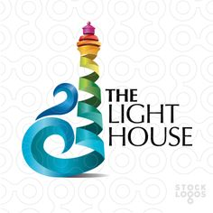 Exclusive Customizable Logo For Sale: The Light House | StockLogos.com