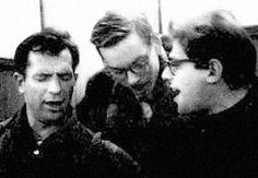 Jack Kerouac, Neal Cassady and Allen Ginsberg