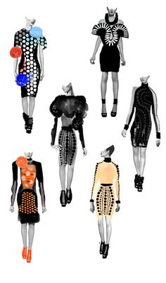 IDOL magazine : Niky Roehreke #fashion #illustration