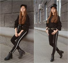 Get this look: http://lb.nu/look/8719429  More looks by Daria Plyonkina: http://lb.nu/user/3568426-Daria-P  Items in this look:  Sammydress Jeans, Dress, Cap, Bag, Tosave Belt, Rosegal Socks   #casual #chic #street