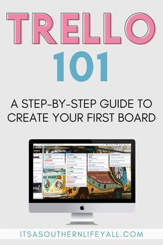 Trello 101 Want to use Trello but have no idea how? This basic Trello for beginners guide has a step-by-step video and instructional images to get you started. Let this Trello tutorial, or Trello 101 as I call it, help organize your life. Business Organization, Life Organization, Organizing Life, Organising, Organizing Ideas, Asana, Trello Templates, Templates Free, Good Time Management