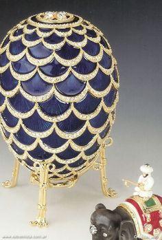 Huevos de Pascua Fabergé Caprichos de los Zares