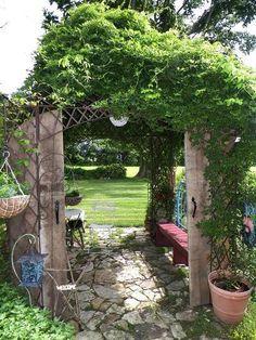 Beth Anderson's arbor