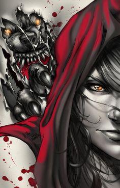 """Bloody Hood"" - sinhalite, deviantart.com"
