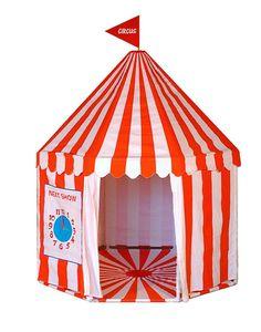 child's circus playtent by little ella james | notonthehighstreet.com