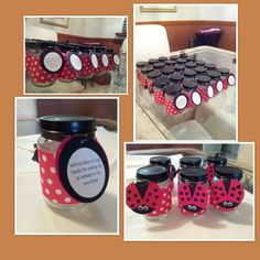 """Lady Bug"" party favors"
