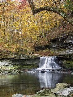 McCormick's Creek Falls, Indiana