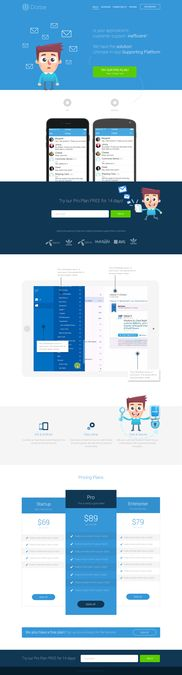 Dome.Support App-In Service Landing Page Creation by supercow