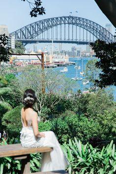 Portrait Of A Barefoot Bride In Wendy S Secret Garden Sydney