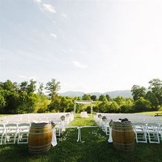 Vineyard Ceremony Location | Dominique Attaway | Theknot.com