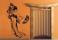 Muurstickers - Japanse Danseres